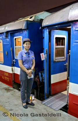 Train Station Hanoy Lady W.M.