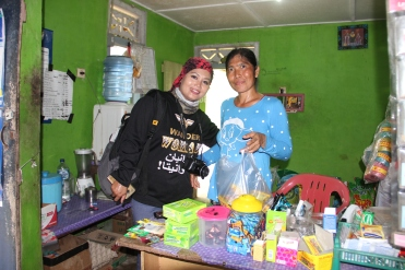 "Charming shop at ""Balinese"" village"